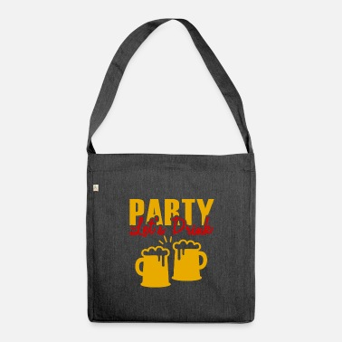 Birthday party - Shoulder Bag recycled