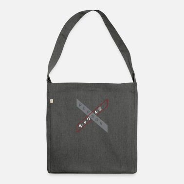 Person person - Shoulder Bag recycled