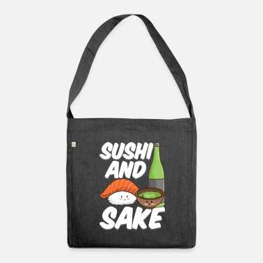 Rotation Sushi and Sake Japanese Foodie Design Outfit - Shoulder Bag recycled