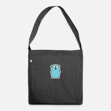 Gopher Go gopher - Shoulder Bag recycled
