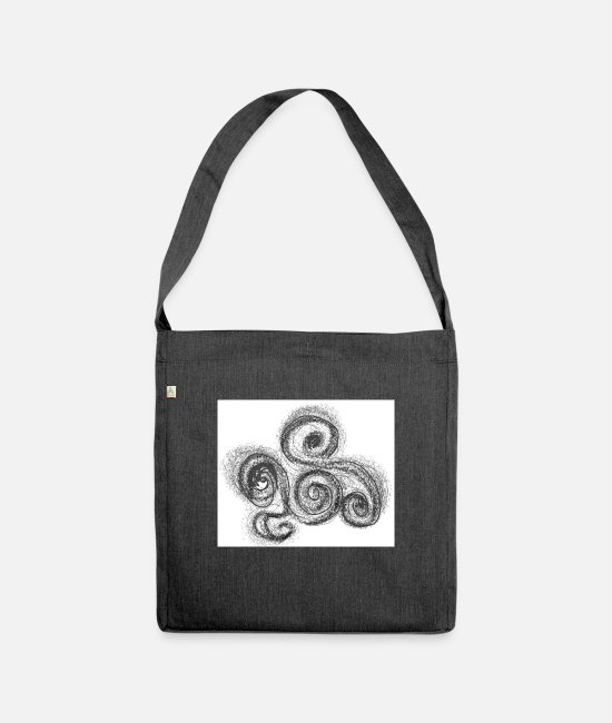 Drawing Bags & Backpacks - o0 - Shoulder Bag recycled heather black