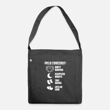 Expecting Expectant dad - Shoulder Bag recycled