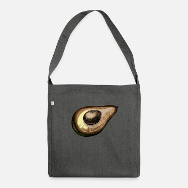 Fruit Of The Earth Avocado fruit moldy gift idea - Shoulder Bag recycled