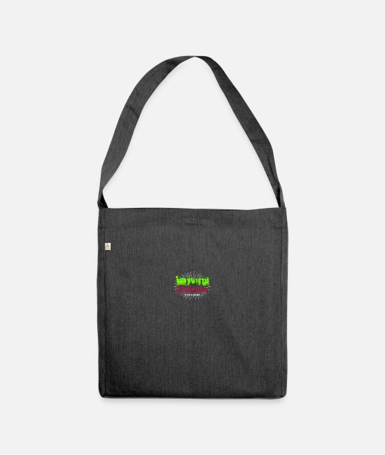Symphony Bags & Backpacks - orchestra - Shoulder Bag recycled heather black