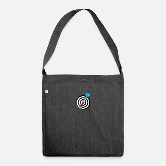 Darts Bags & Backpacks - Diana - Shoulder Bag recycled heather black