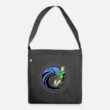 Kite Surfers Kite surfers - Shoulder Bag recycled