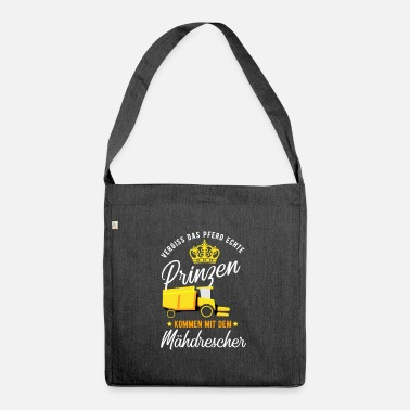 Farming Farm Farm Funny Farm Gift - Shoulder Bag recycled