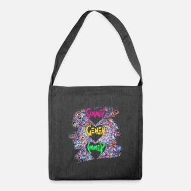 Schlagerparty Schlagerparty Always Go Costume - Borsa a tracolla riciclato