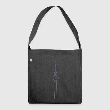 Berlin TV Tower  - Shoulder Bag made from recycled material