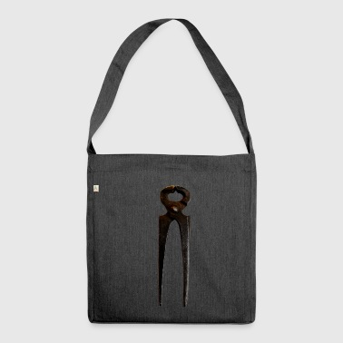 Pincers, rusty - Shoulder Bag made from recycled material