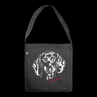 DACHSHUND - Shoulder Bag made from recycled material