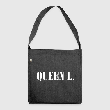 Queen L. You are the Queen! - Shoulder Bag made from recycled material