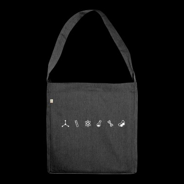 Science Symbols - Shoulder Bag made from recycled material