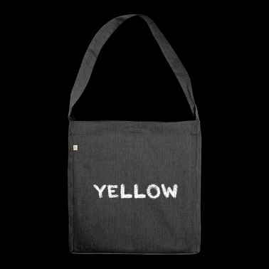 yellow or? - Shoulder Bag made from recycled material