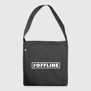#OFFLINE - Shoulder Bag made from recycled material