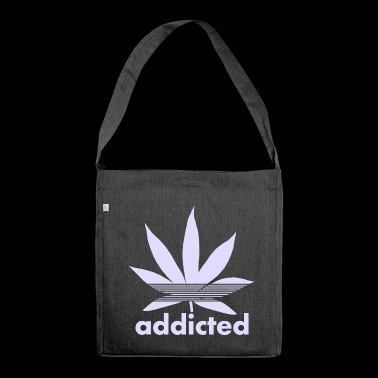 Addiction - Shoulder Bag made from recycled material