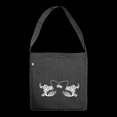 Anglerfish Issues - Shoulder Bag made from recycled material