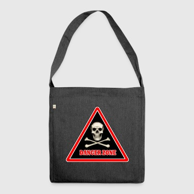 Danger Zone - Shoulder Bag made from recycled material