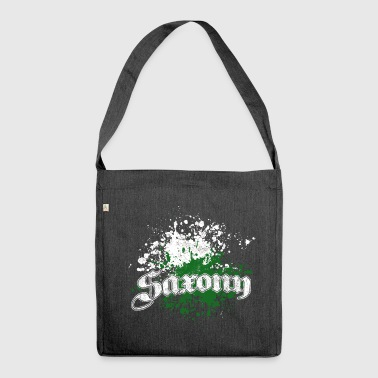 Saxony splatter - Shoulder Bag made from recycled material
