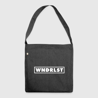 WANDERLUST - Shoulder Bag made from recycled material