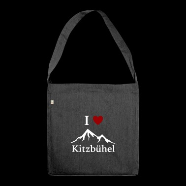 Skiing / Kitzbühel / I Love Kitzbühel / T-shirt - Shoulder Bag made from recycled material
