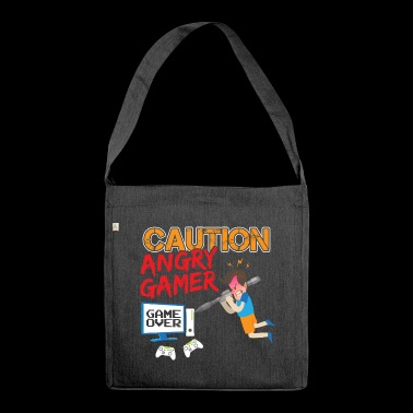 ANGRY GAMER - Sac bandoulière 100 % recyclé