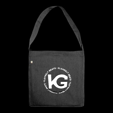 KlangGut_Beats_Logo 3D - Shoulder Bag made from recycled material