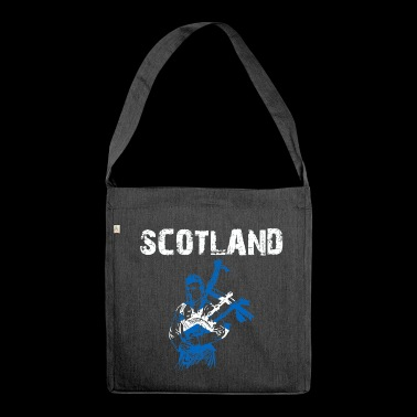 Nation Design Scotland Bagpipe ZPfdXt - Shoulder Bag made from recycled material