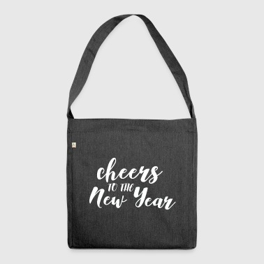 New Year's Eve Cheers Cheers Party Gift - Shoulder Bag made from recycled material