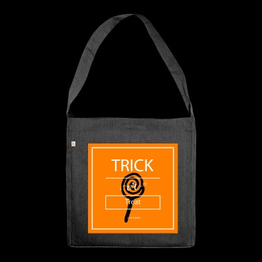 trick or treat - Shoulder Bag made from recycled material