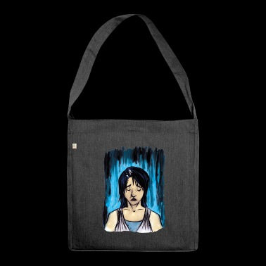 Sadness - Shoulder Bag made from recycled material