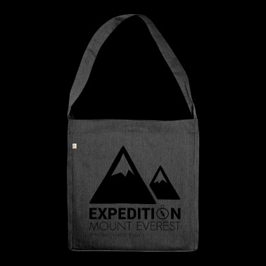 Mount Everest Expedition - Shoulder Bag made from recycled material