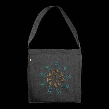 Wisdom on earth - Shoulder Bag made from recycled material