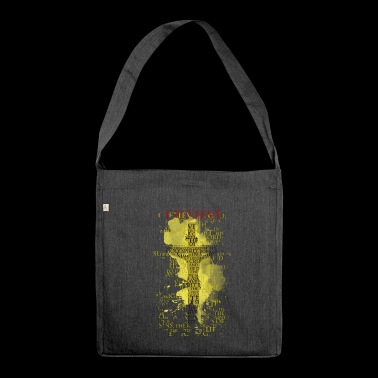 I believe / believe (yellow-yellow) - Shoulder Bag made from recycled material