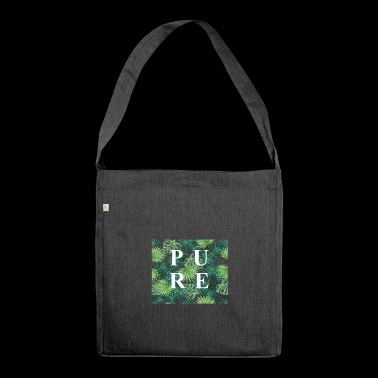 PURE - Schultertasche aus Recycling-Material