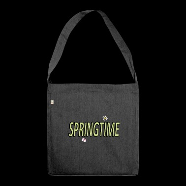 Springtime - Schultertasche aus Recycling-Material