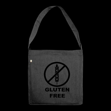 Gluten-free celiac disease - Shoulder Bag made from recycled material