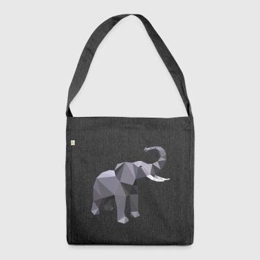 Elephant 3D - Shoulder Bag made from recycled material