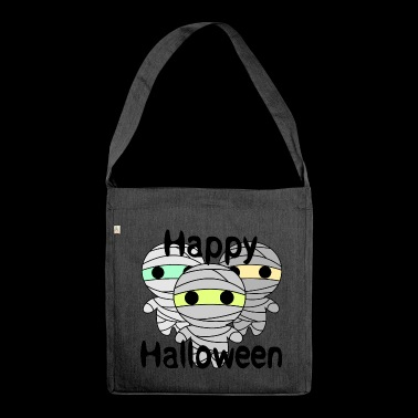 mummie di Halloween - Borsa in materiale riciclato