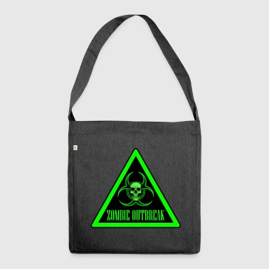 Zombie Outbreak - Shoulder Bag made from recycled material