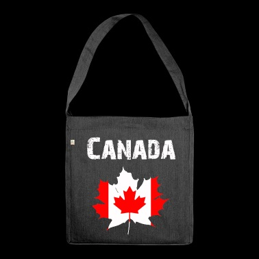 Nation Design Canada Maple leaf RLUNi - Shoulder Bag made from recycled material
