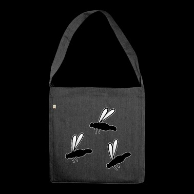 Insect Fly Fly Fly - Shoulder Bag made from recycled material