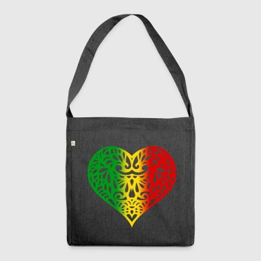 Rasta Love - Shoulder Bag made from recycled material