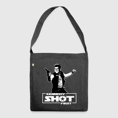 Kennedy shot first - Schultertasche aus Recycling-Material