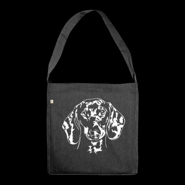 DACHSHUND DACHSHUND - Shoulder Bag made from recycled material