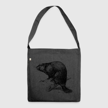 The Beaver - Shoulder Bag made from recycled material