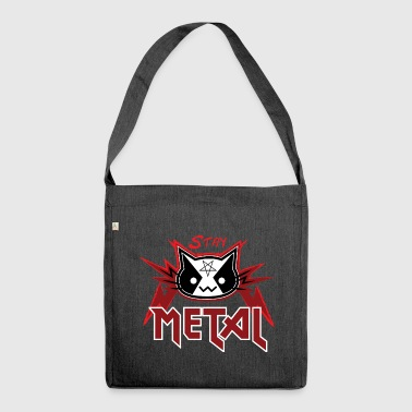 Metallo Cat - Stay Metal (Red Edition) - Borsa in materiale riciclato