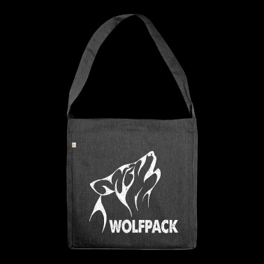 Wolfpack. Gifts for the whole Family. - Shoulder Bag made from recycled material
