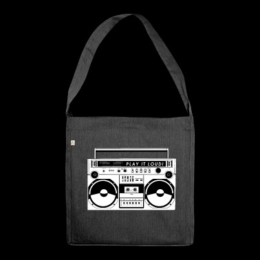 play it loud! - Shoulder Bag made from recycled material