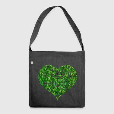 Weed Love - Shoulder Bag made from recycled material